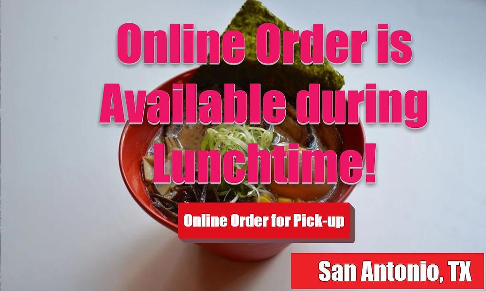 Online Order for Hero's ramen x Sushi