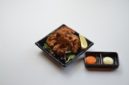 Chicken Karaage with Tokyo Style