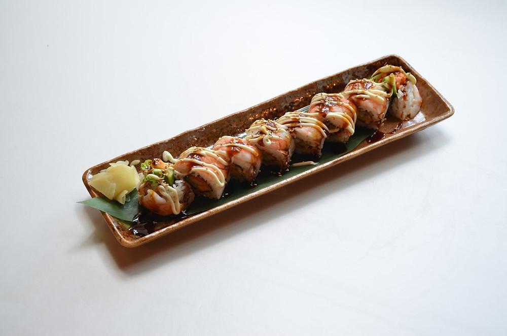 Shrimp Salad Roll