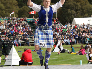 All open competitions for Highland Dancing now full!