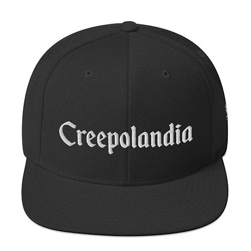 Creepolandia Snapback Hat
