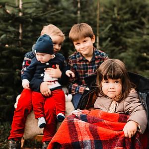 Yolanda - Xmas Familienshooting