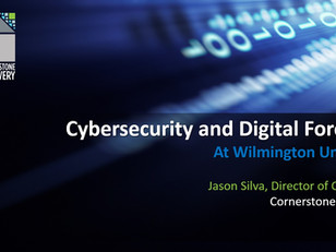 Jason Silva Guest Lectures Cyberlaw Class at Wilmington University (free download)