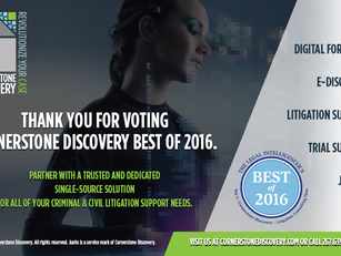 """THE LEGAL INTELLIGENCER'S """"BEST OF 2016"""""""
