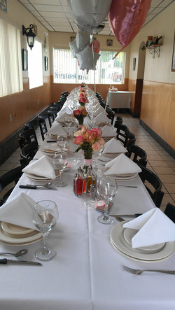 Special Occasion Private Dining