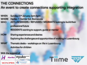 Join us on 31 January for The Connections