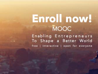 """Enroll now for the """"Enabling Entrepreneurs to Shape a Better World"""" - MOOC"""