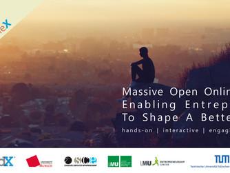 "Massive Open Online Course (MOOC)  ""Enabling Entrepreneurs To Shape A Better World"""