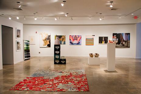 Art Gallery at Wynwood art district Miami.