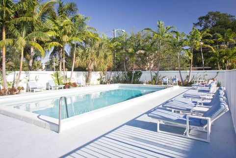 Pool Area at The New Yorker Hotel Miami.