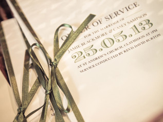 Country Charm Order Of Service