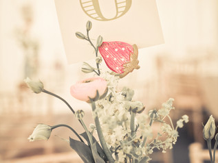 Country Charm Table Number