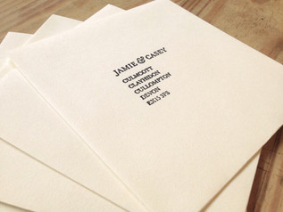 Country Charm Envelopes