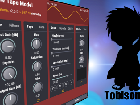 Awesome Free Tape Saturation Plugin: Chow Analog Tape Model