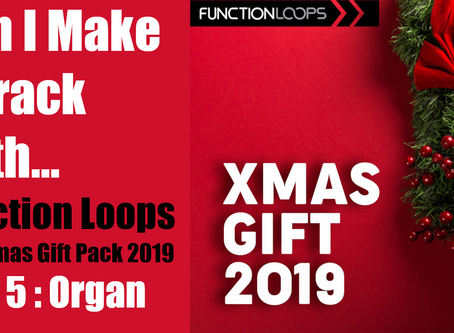 Can I Make a Track with the Function Loops Christmas Pack? Part 5: Organ