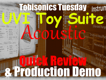 UVI Toy Suite : Acoustic Instruments Quick Review & Full Production Demo Breakdown