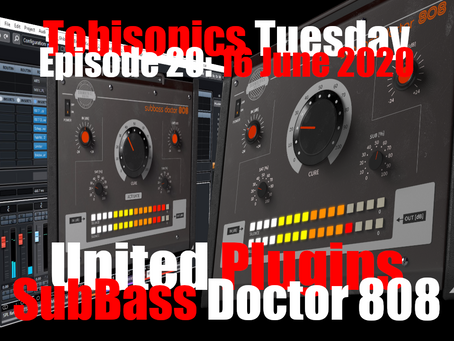 United Plugins Soundevice Digital SubBass Doctor 808 Quick Demo