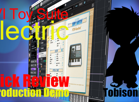UVI Toy Suite : Electric Instruments Quick Review & Full Production Demo Breakdown