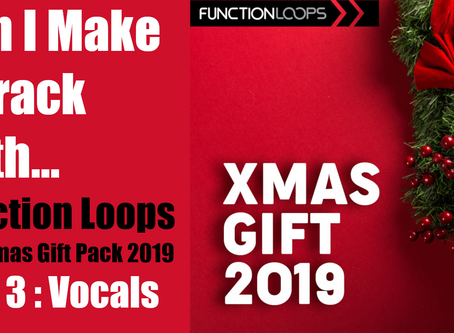 Can I Make a Track with the Function Loops Christmas Pack? Part 3: Vocal Loop