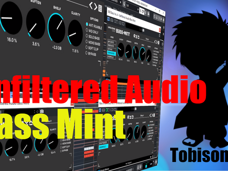 Unfiltered Audio Bass Mint. Designed for Modern Music Producers. Tighten, Texture & Flavor the Lows