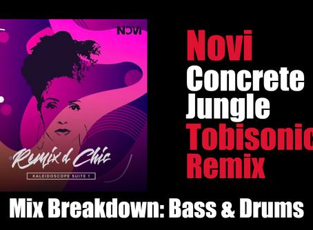 """Ableton Mix Breakdown: Mixing Drums & Bass for Novi's """"Concrete Jungle (Tobisonics Remix)"""""""