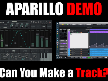 Sugar Bytes Aparillo Demo - Can You Make a Track?