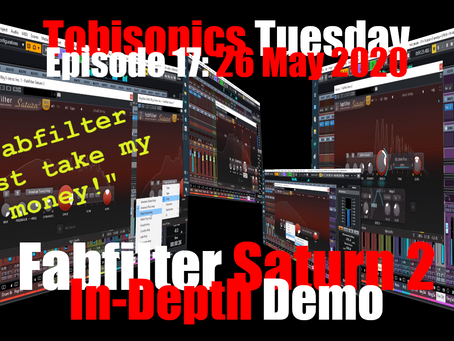 Fabfilter, Just Take My Money!  Fabfilter Saturn 2 In-Depth Demo
