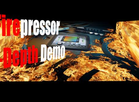 Sunday Special: United Plugins Firesonic Firepressor In-Depth Demo (4 Compressors in 1)