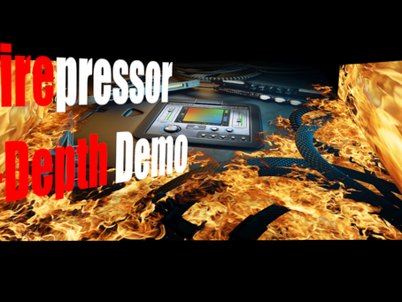 Sunday Special: United Plugins Firesonic Firepressor In-Depth Demo (4 Compressors in 1)