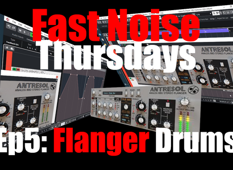 Flanger Drums with D16 Antresol & Automation (Fast Noise Thursdays Ep5)