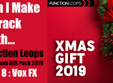 Can I Make a Track with the Function Loops Christmas Pack? Part 8: Trash Vocals