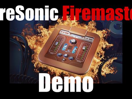 FireSonic Firemaster (Sonic Exciter) Plugin Demo