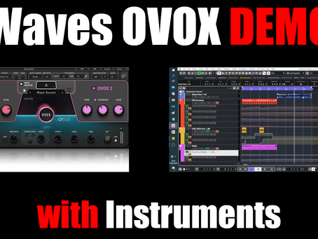Waves OVOX on Instruments?  Why Not?