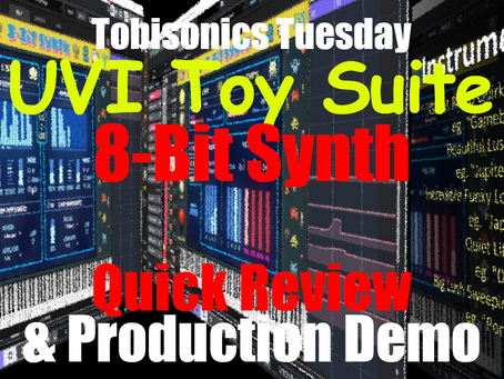 UVI Toy Suite : 8-Bit Synth Quick Review & Full Production Demo Breakdown