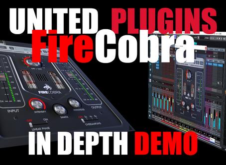 United Plugins FireCobra Saturation Plugin In-Depth Demo