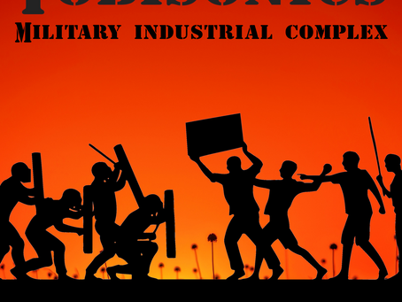 "Tobisonics ""Military Industrial Complex"" Lyric Video / Visualizer"