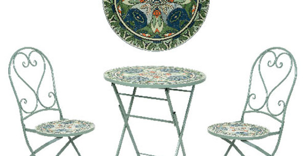 Mosaic patio set  - Braga, Cancun and Toulouse