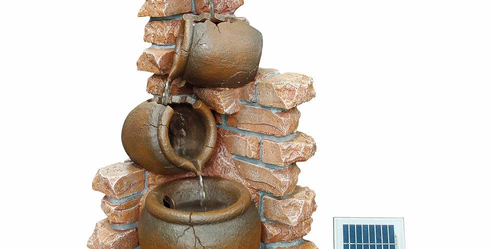 Solar 4 Pots Water Feature