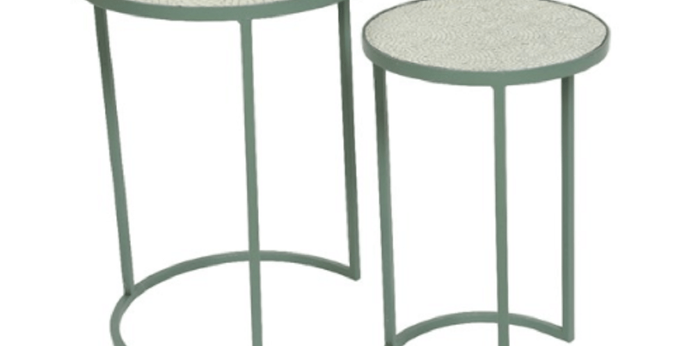 Set of 2 side tables - Cancun or Eze