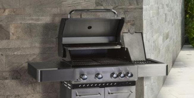 Alpha 4 Burner BBQ & Side Burner
