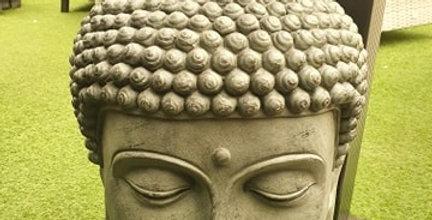 Classic Buddha Head garden ornament