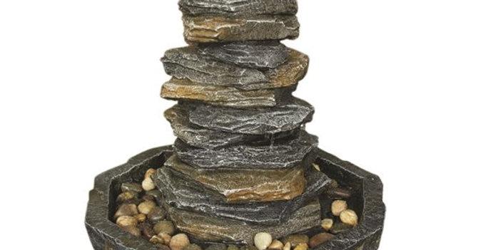 Stacked Slate Monolith