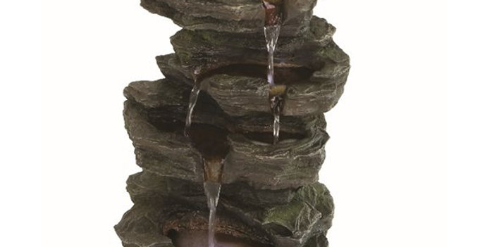Solar Slate Falls