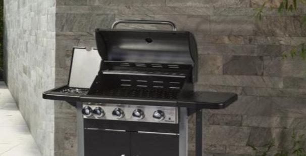Sigma 4 Burner BBQ & Side Burner