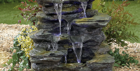 Como Springs Self-contained Water Feature