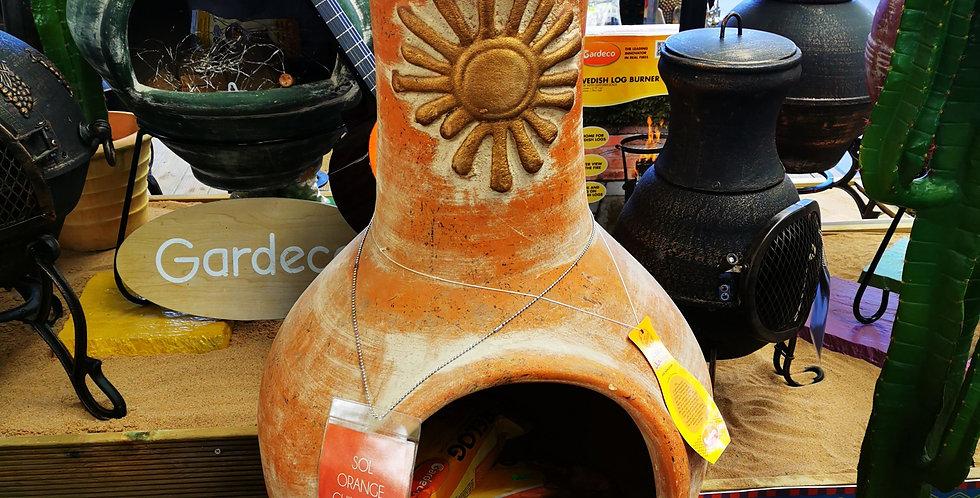 Sol Orange Chimenea