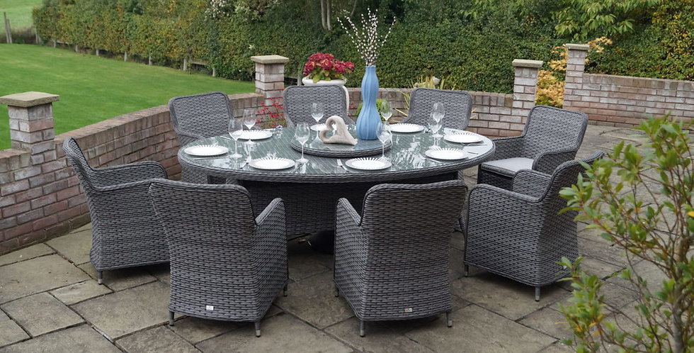 RYDAL OVAL 8 SEATER SET