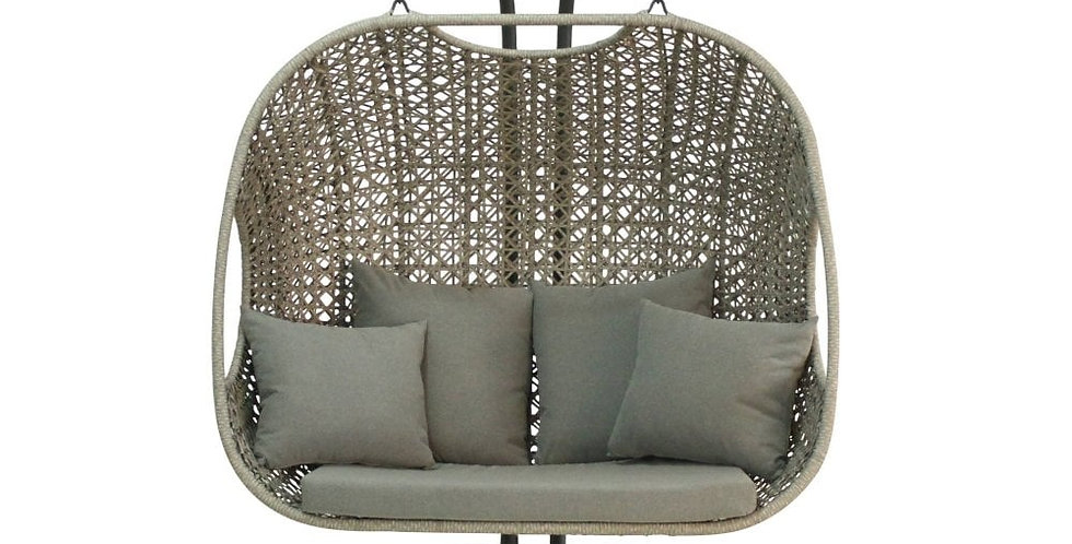 Willow Hanging Double Egg Chair
