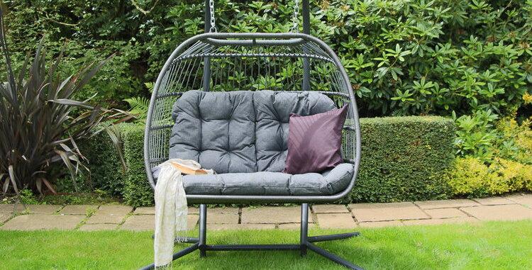 Eden Double Folding Egg Chair