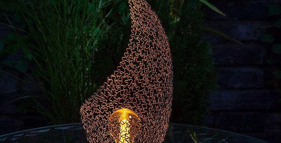 Rustic Wire Tulip Lantern